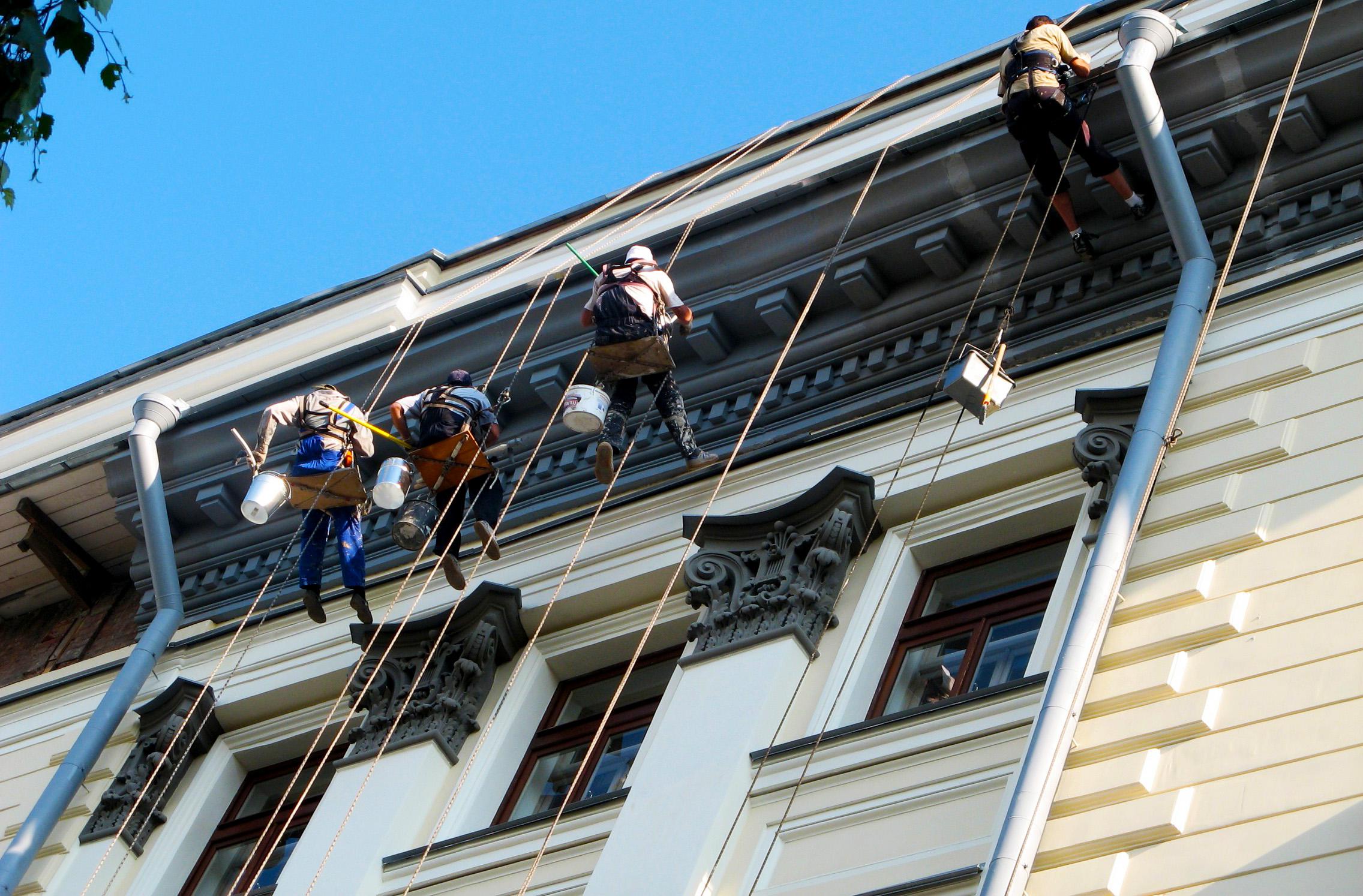 Обслуживание фасада